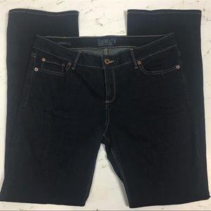 Lucky Brand Lolita Bootcut Dark Wash Jeans